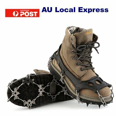 OUTAD High Quality TPR Hiking Traction Cleats/Crampons For Snow And Ice SU