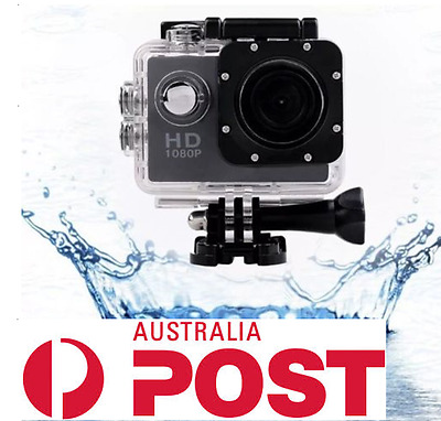 Full HD Waterproof Mini Sport Action Camera with Go pro fit mounts