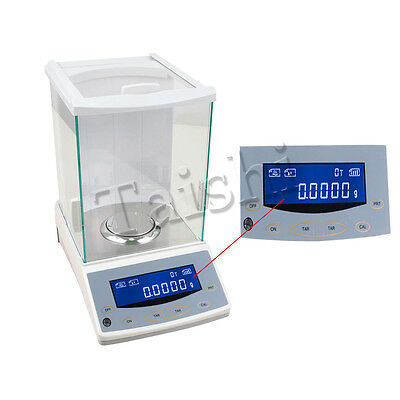 TOP! 200/0.0001g 0.1mg digital precision scale Lab Analytical Balance with CE
