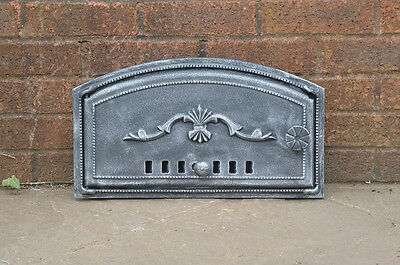 47 x 27 cm cast iron fire door clay bread oven doors pizza stove