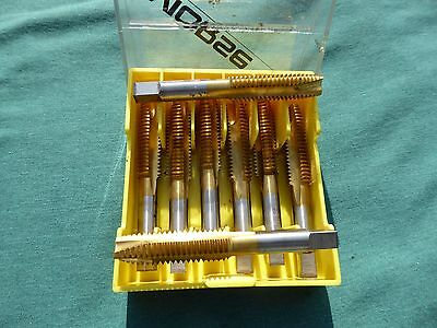"Lot of 4 - Morse 1/2"" X 13 Taps TiN 3 Flute 92508"