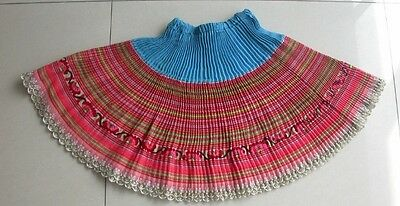 Chinese  Minority's  child's hand embroidery  flex Skirt