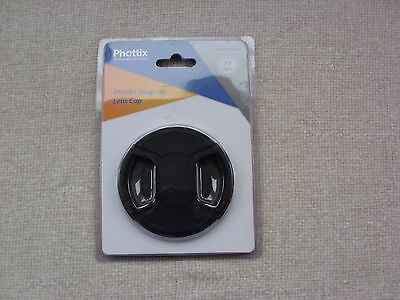 Phottix 77 mm Snap-On Lens Cap