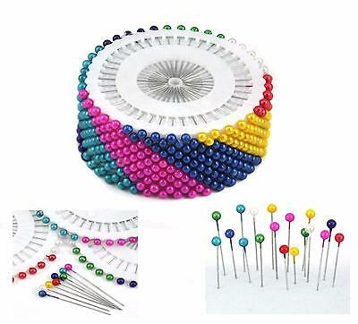 480PCS Round Head Dressmaking Wedding Faux Pearl Sewing Pins Decorating Craft LH