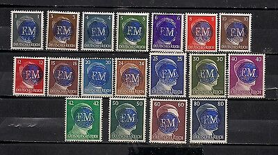 Occupation Germany Hitler Lot Local Private Mnh Original Stamps #2