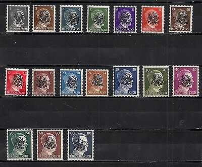 Occupation Germany Hitler Lot Local Private Mnh Original Stamps #5
