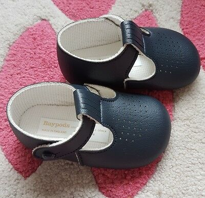 Baby size 2 blue shoes brand new in box