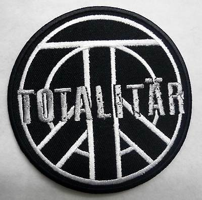 TOTALITAR embroidred patch Shitlickers Mob47 AntiCimex Discard Bombanfall Crudit