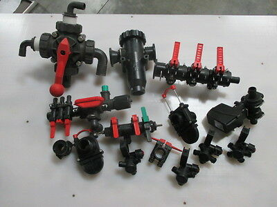 AR AG nozzle bodies, filter housing and Valves including a 5 way manual valve