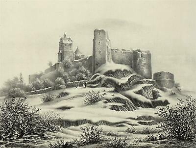 STOLPEN - Poenicke - Lithographie 1856