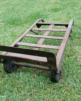 Antique hand trolley