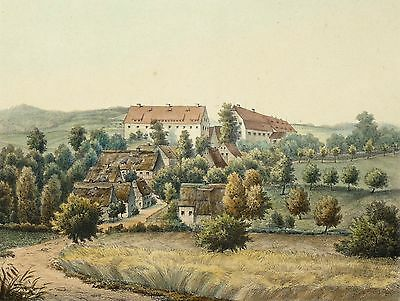 THEISEWITZ - Poenicke - Lithographie 1856
