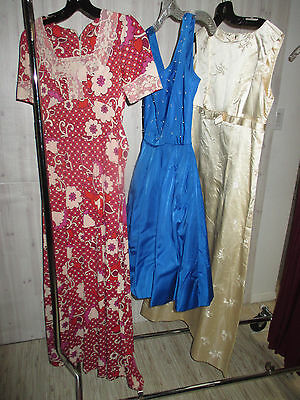 VINTAGE 1950s 1960s dress lot hippie 50's party wedding all sizes XS