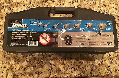 Ideal 36-314 TKO Carbide Tipped Hole Cutter w/ 6-Piece Master Electrician's Kit
