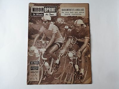 *Rare Vintage 1950s Miroir-Sprint - French Cycling Magazine - 19 July 1959*