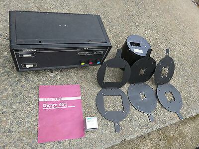 Beseler Dichro 45S Colorhead Light Source Plus Extras.