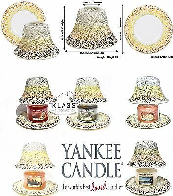 Yankee Candle Moroccan Style Lamp Shades With Trays And Candle Jars