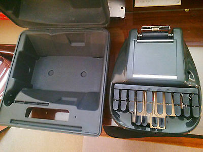 Stenograph Reporter Machine With Case