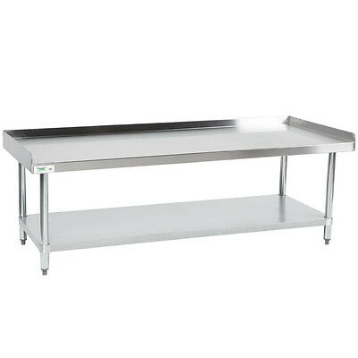 """Regency 30"""" x 72"""" Stainless Steel NSF Equipment Stand Commercial Work Prep Table"""