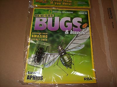 National Geographic Real-life Bugs & Insects magazine Issue 33