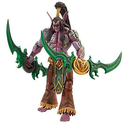 ILLIDAN STORMRAGE 18cm World of Warcraft Deluxe Figure NECA Heroes of the Storm