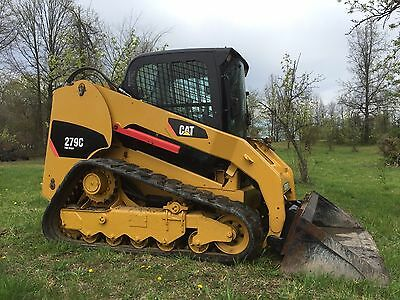 2012 Caterpillar 279C Track Compact Track Skid Steer Loader, Cat Low Cost Ship
