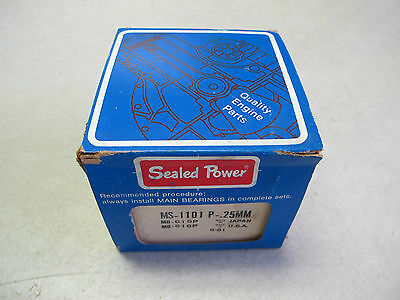 Sealed Power MS-1101 P-.25mm Main Bearing Set fit TOYOTA 6R-7R-8R-10R-8RC
