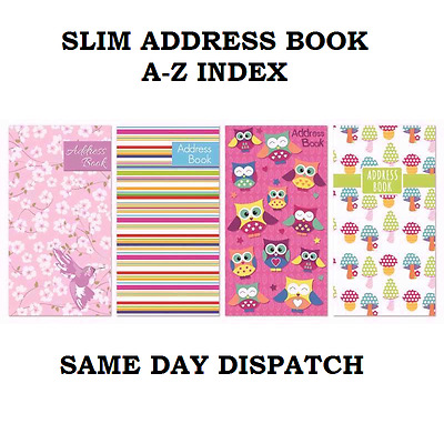 Slim Office Desktop Directory Records Address Telephone Book A-Z Index