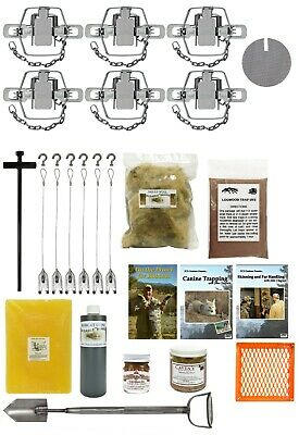 USA Made Kit PcsOutdoors Standard Coyote Trapping Starter Kit 20 Pieces