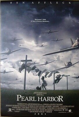 Pearl Harbor (2001) Original D/S ONE SHEET POSTER, Ben Affleck, Kate Beckinsale