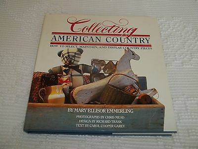 Vintage Collecting American Country Book (Hardback)