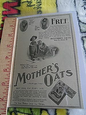 Mother's Oats Akron O - Paper Print Ad