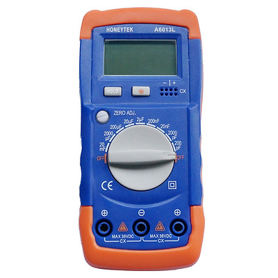 Auto Discharge Capacitor Tester Capacitance Meters LSI-Circuit 9 Measure Range