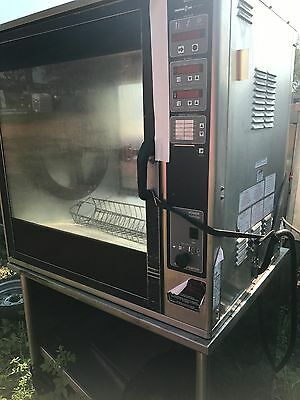 Henny Penny SCR-8 Electric Countertop Chicken Rotisserie Oven