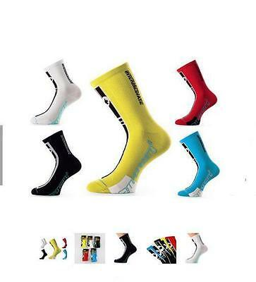 Mens Coolmax Cycling Sports Socks Riding Running Basketball Socks Fit 40-46
