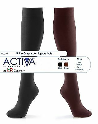 Activa Unisex Sock Medical Support Varicose Vein Circulation Compression DVT NHS