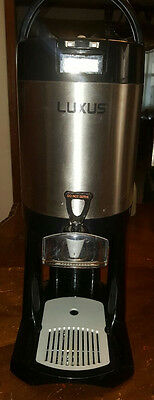 Fetco Luxus 1.5 Gallon Thermal Coffee Beverage Dispenser L3D-15