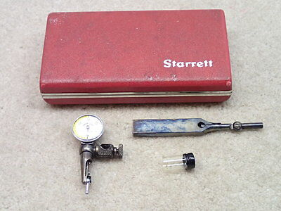 Starrett 711 Dial Indicator The Last Word with Case & Shank