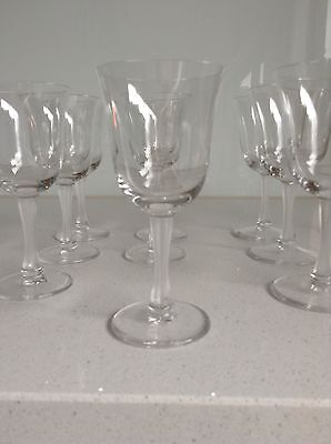 x12 Lalique Crystal France Barsac Wine Glasses In Excellent Cond 2 Sets Of 6
