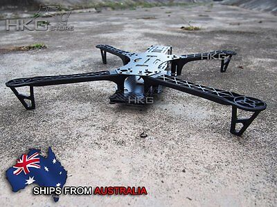 Reptile Alien 500 3K Carbon Fiber 500mm Quadcopter Multicopter Frame Kit -BK Arm