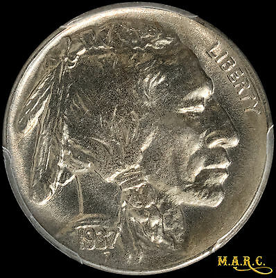 1937-S MS66 PCGS 5C Buffalo Nickel, A Dazzling Lustrous Beauty!! Free Shipping!