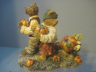 Boyds Bears Figurine Jim, Jody, and Nicole BIGGEST AMBITIONS  SECOND EDITION