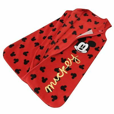 Mickey Mouse Baby Sleeping Bags Size 3-6 Months