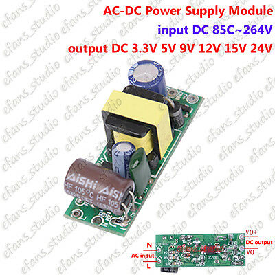 AC110V 220V 230V to DC 3.3V 5V 9V 12V 15V 24V AC-DC Power Switching Transformer