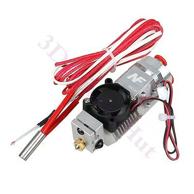 2017 Three colors Switching Extruder 3 In 1 Out Hotend Compatible Titan, Bulldog