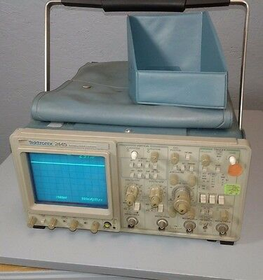 Tektronix 2445 Analog Oscilloscope 4 Channels, 150 MHz Working/Not fully tested
