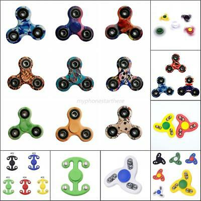 Anti Stress Hand Finger Spinner Camo Ceramic Finger Toy EDC Desk ADHD Autism Toy
