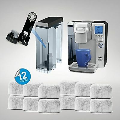 Pack of 12 Replacement Charcoal Water Filters for Cuisinart Coffee Machines B...