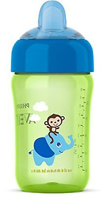 Philips AVENT SCF555/15 My Sip n Click Cup, 12oz - 1 pack, Boy