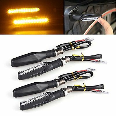 LTC? Universal Motorcycle Bike 4pcs 12 LED Turn Signal Indicator Light Blinke...